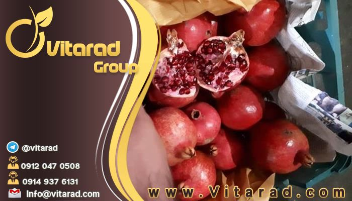 Production of pomegranate in Iran